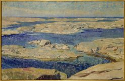The Gaso Skerries | Carl Wilhelm Wilhelmson | Oil Painting