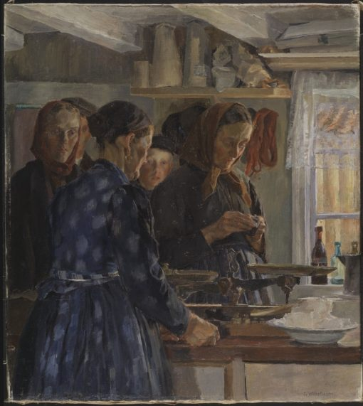 The Village Shop | Carl Wilhelm Wilhelmson | Oil Painting
