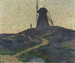 The Windmill | Carl Wilhelm Wilhelmson | Oil Painting