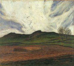 Storm Clouds | Karl Nordström | Oil Painting