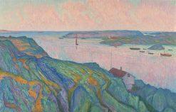 Kyrkesund | Karl Nordström | Oil Painting