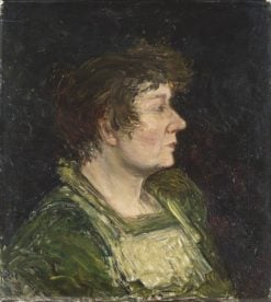 The Artists Wife | Karl Nordström | Oil Painting