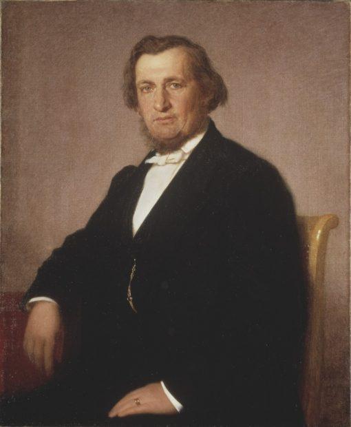 Andre Oskar Wallenberg   Gustaf Uno Troili   Oil Painting