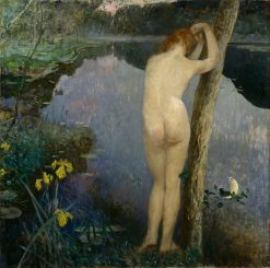 Nocturne | Eilif Peterssen | Oil Painting