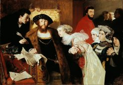 Christian II Signing the Death Warrant of Torben Oxe | Eilif Peterssen | Oil Painting