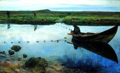 The Salmon Fisher | Eilif Peterssen | Oil Painting