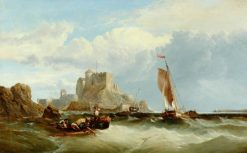 Boats off the French Coast | James Clarke Hook