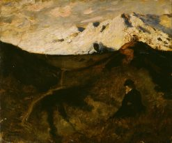 Mountains near Innsbruck | Eilif Peterssen | Oil Painting