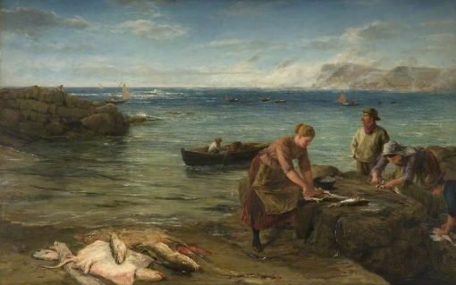 Breakfasts for the Porth   James Clarke Hook