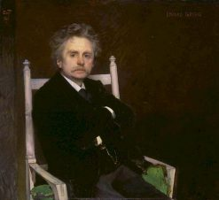 Edvard Grieg | Eilif Peterssen | Oil Painting