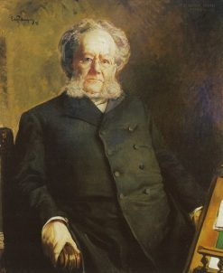 Portrait of Norwegian Author Henrik Ibsen | Eilif Peterssen | Oil Painting