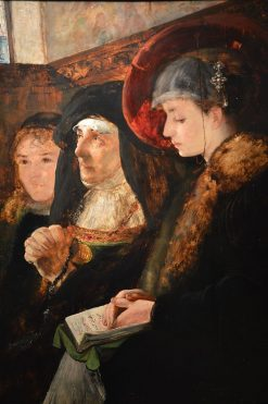 In the Church | Eilif Peterssen | Oil Painting