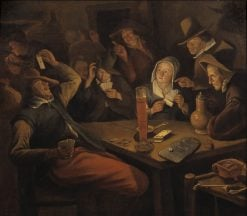 Ace of Hearts | Jan Havicksz. Steen | Oil Painting