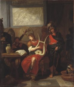 Achilles Playing the Lyre before Patrocles | Gerard de Lairesse | Oil Painting