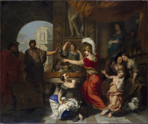 Achilles Recognized by Ulysses at the Court of Lycomedes | Gerard de Lairesse | Oil Painting