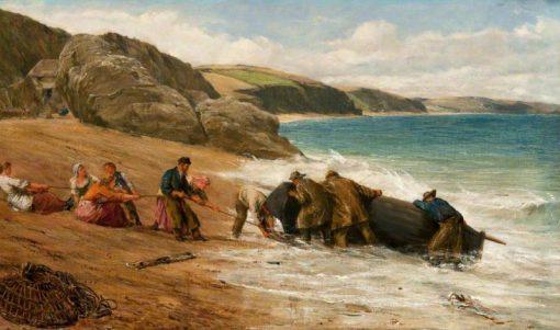 Coast Scene   James Clarke Hook