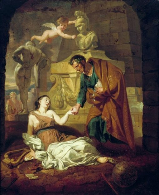 Gaius Maecenas Supporting the Arts | Gerard de Lairesse | Oil Painting