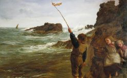 Caught by the Tide | James Clarke Hook