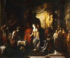 Antiochus and Stratonice   Gerard de Lairesse   Oil Painting