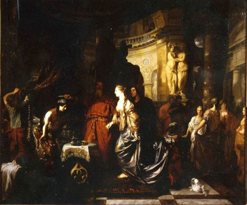 Antiochus and Stratonice | Gerard de Lairesse | Oil Painting
