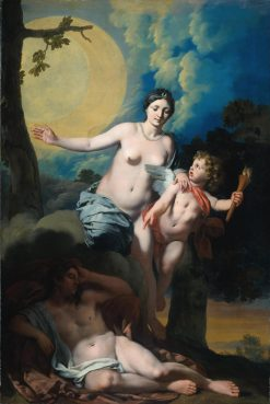 Selene and Endymion | Gerard de Lairesse | Oil Painting