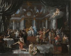 Aeneas at the Feast of Dido | Gerard de Lairesse | Oil Painting