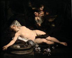 Sleeping Bacchante | Gerard de Lairesse | Oil Painting