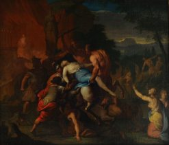 The Battle between Lapiths and Centaurs | Gerard de Lairesse | Oil Painting