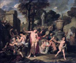 The Feast of Bacchus | Gerard de Lairesse | Oil Painting