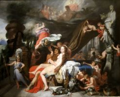 Hermes Ordering Calypso to Release Odysseus | Gerard de Lairesse | Oil Painting