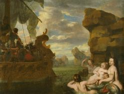 Odysseus and Sirens | Gerard de Lairesse | Oil Painting