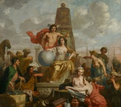 Allegory of Amsterdam Prosperity | Gerard de Lairesse | Oil Painting