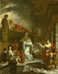 The Temple of Virtue | Gerard de Lairesse | Oil Painting