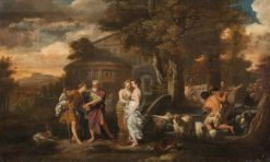 Jacob and Rachel at the Well of Haran | Gerard de Lairesse | Oil Painting