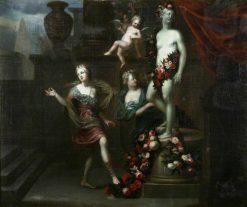 Floral Tributes to Venus | Gerard de Lairesse | Oil Painting