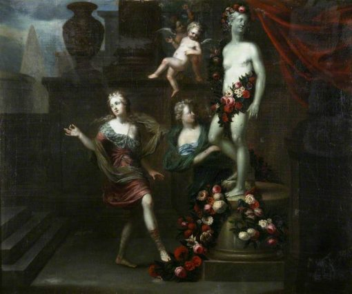 Floral Tributes to Venus   Gerard de Lairesse   Oil Painting