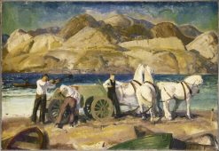 The Sand Cart | George Wesley Bellows | Oil Painting