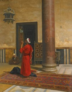 Morning Prayers | Ludwig Deutsch | Oil Painting
