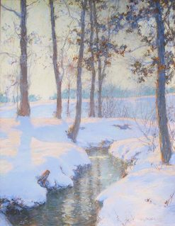 Brook in Winter | Walter Launt Palmer | Oil Painting