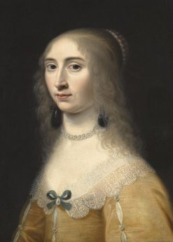 Portrait of a Lady   Jacob Willemsz. Delff II   Oil Painting