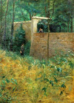 La conversation champêtre | Clovis-Francois-Auguste Didier | Oil Painting