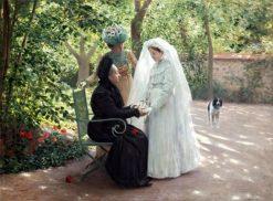 Three Generations | Clovis-Francois-Auguste Didier | Oil Painting