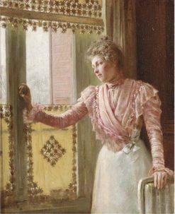 The waiting game | Clovis-Francois-Auguste Didier | Oil Painting