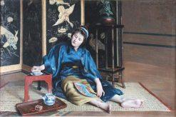 Japonisme | Clovis-Francois-Auguste Didier | Oil Painting