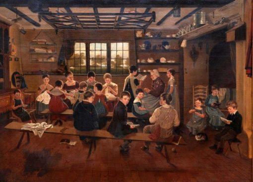 The Dame School | David Wilkie | Oil Painting