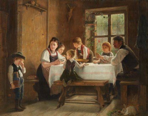 Weeping Boy | August Heyn | Oil Painting