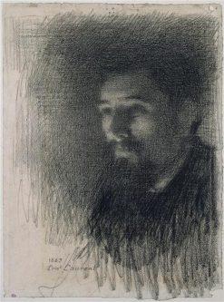 Portrait of Georges Seurat | Ernest-Joseph Laurent | Oil Painting