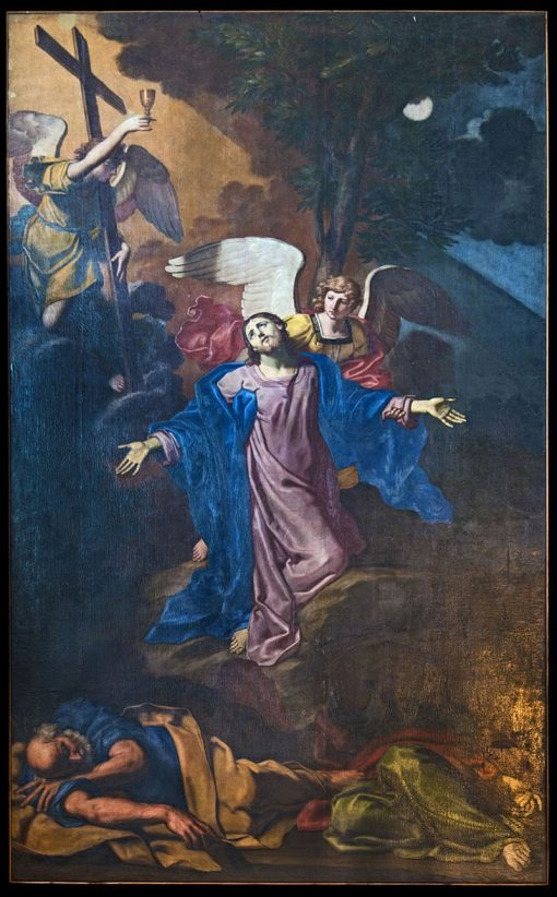Christ in the Garden at Gethsemane | Michele Desubleo | Oil Painting
