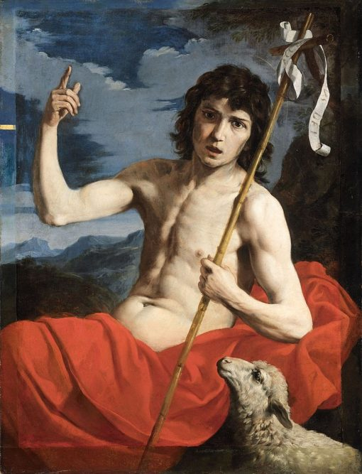 St. John the Baptist | Michele Desubleo | Oil Painting