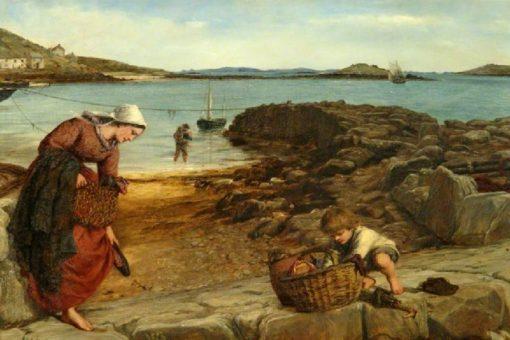 Leaving at Low Water | James Clarke Hook